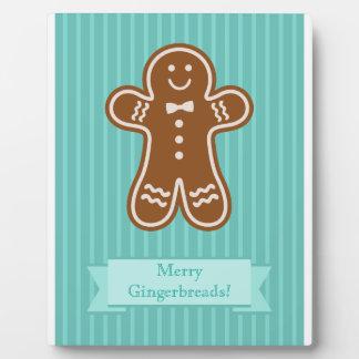 Gingerbread Hugs Plaque