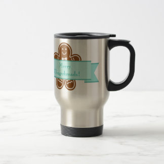 Gingerbread Hugs Travel Mug