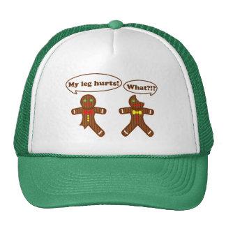 Gingerbread Humor Trucker Hat