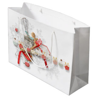 Gingerbread Kitchen Collage Gift Bag
