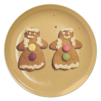 Gingerbread Lesbians Cookie Plate