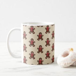 Gingerbread male - beige coffee mug
