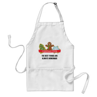 Gingerbread Man and Christmas Cookies Standard Apron