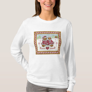 Gingerbread man and woman T-Shirt