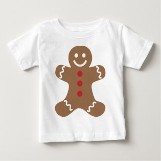 Gingerbread Man Baby T-Shirt