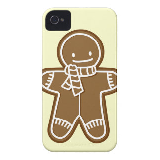 Gingerbread man Bag iPhone 4 Case-Mate Cases