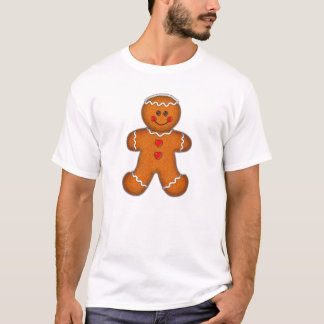 GINGERBREAD MAN by SHARON SHARPE T-Shirt