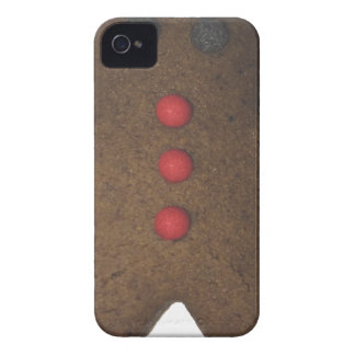 Gingerbread man Case-Mate iPhone 4 cases