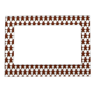 Gingerbread Man Christmas Cookie Holiday Baking Magnetic Frame