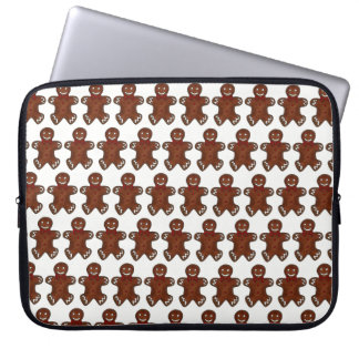 Gingerbread Man Christmas Cookie Holiday Foodie Laptop Sleeve