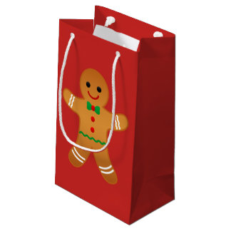GINGERBREAD MAN - Christmas Gift Bag