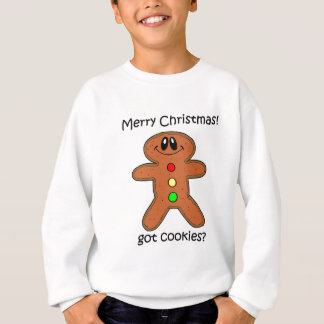 gingerbread man Christmas Sweatshirt