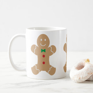Gingerbread Man Coffee Mug
