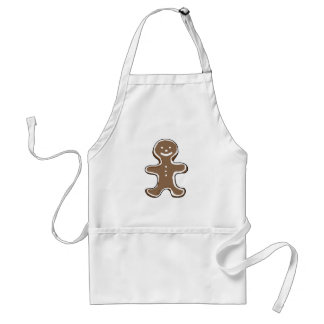 Gingerbread man cookie standard apron