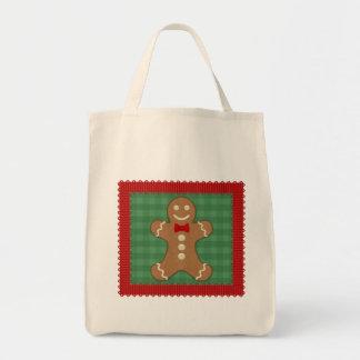 Gingerbread Man Cookie Tote Bag