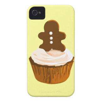Gingerbread man cupcake iPhone4/4S case