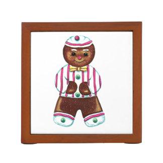 Gingerbread Man Desk Organizer