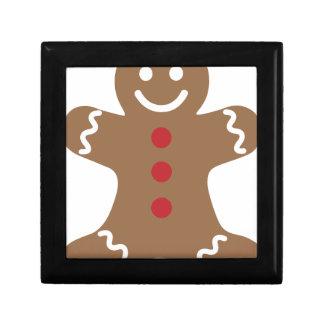 Gingerbread Man Gift Box
