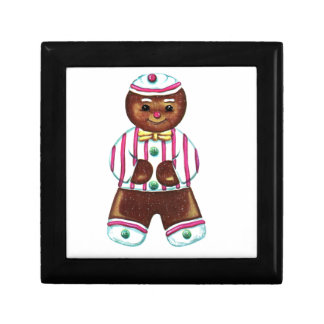 Gingerbread Man Gift Box