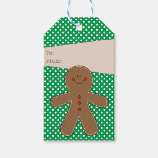 Gingerbread Man Gift Tag
