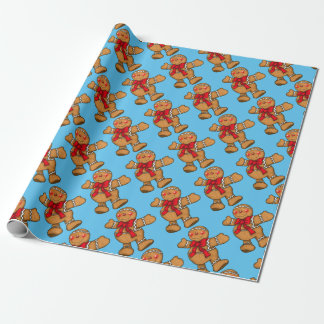 Gingerbread Man, Gift Wrapping Supplies Wrapping Paper