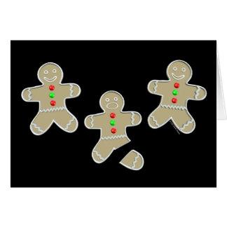 Gingerbread Man Got Hurt Card