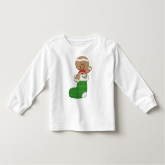 Gingerbread Man in Stocking T-shirts