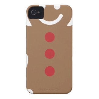 Gingerbread Man iPhone 4 Cover