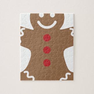 Gingerbread Man Jigsaw Puzzle