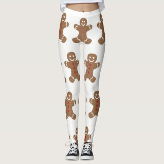 GINGERBREAD MAN LEGGINGS