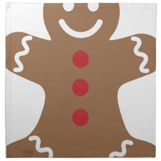 Gingerbread Man Napkin