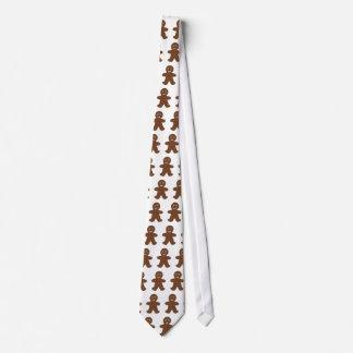Gingerbread Man Neck Tie