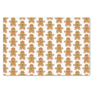 Gingerbread Man Pattern Tissue Paper