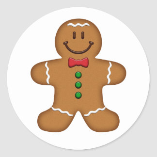 Gingerbread Man Sticker