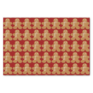 Gingerbread Man Tissue Paper