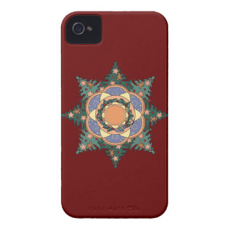 Gingerbread Man Wreath iPhone 4 Case-Mate Cases