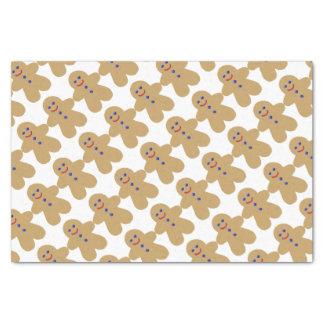 gingerbread men cookie tissue paper
