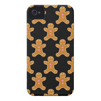 Gingerbread Men iPhone 4 Case-Mate Cases
