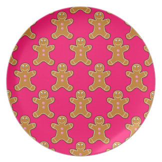 Gingerbread Men Plate