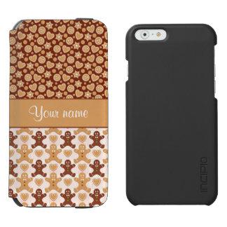 Gingerbread Men, Smiley Faces and Hearts Incipio Watson™ iPhone 6 Wallet Case