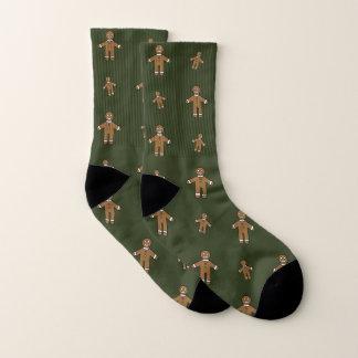 Gingerbread Men Socks 1