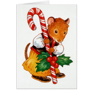 Gingerbread Mouse Card