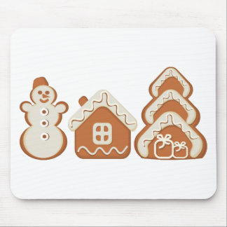 gingerbread mouse pad