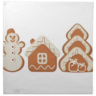 gingerbread napkin