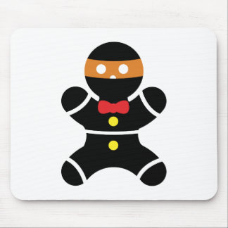 Gingerbread Ninja 2a Mouse Pad