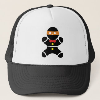 Gingerbread Ninja 2a Trucker Hat