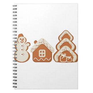 gingerbread notebook