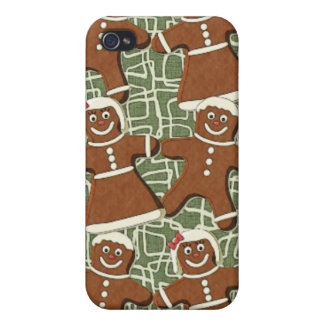 GINGERBREAD PEOPLE iPhone 4 COVERS