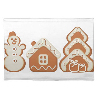 gingerbread placemat