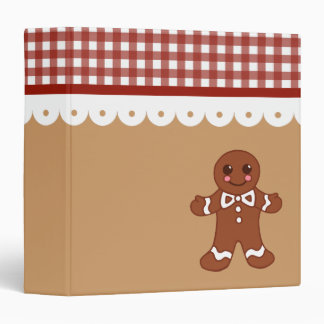 Gingerbread Recipe Binder